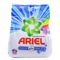 Порошок Ariel Color Fresh для цветного белья, 3 кг