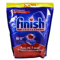 Таблетки для посудомийки Finish ALL IN 1 MAX, 80 шт.