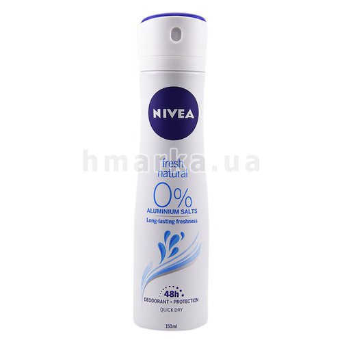 Фото Дезодорант cпрей Nivea Fresh Natural, 150 мл № 1