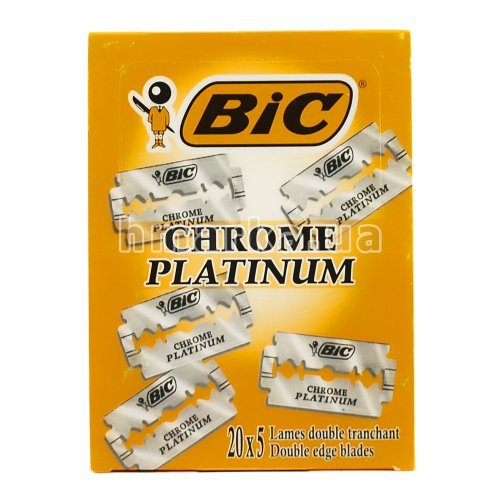 Лезвия для бритья Bic Chrome Platinum 20х5
