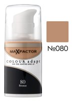 Основа тональная Max Factor COLOUR ADAPT № 080, загар, 34 мл