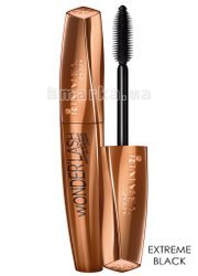 "Туш для вій RIMMEL ""WONDER'FULL ARGAN OIL"", Extreme Black, Екстримально Чорний, 11 мл"