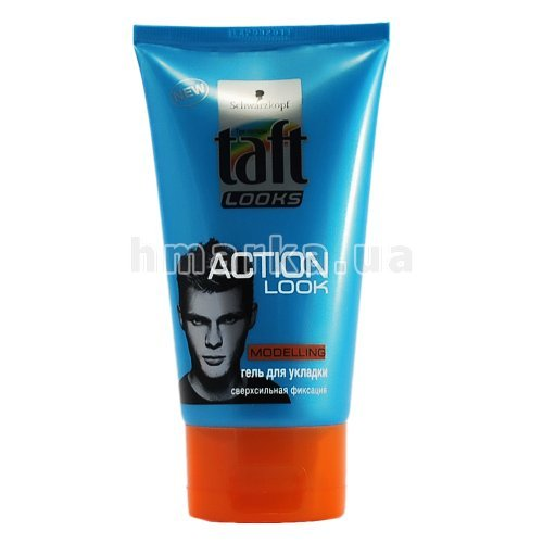 "Гель для волос Taft Looks ""Action Look"", 150 мл"
