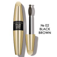 Max Factor FALSE LASH EFFECT EPIC супер-об'єм, № 02, Black-Brown, Чорно-коричнева, 13,1 мл